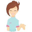 иконки beauty consultant, showing,  консультант, девушка, человек,