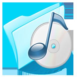 иконка folder, Music, папка, моя музыка,
