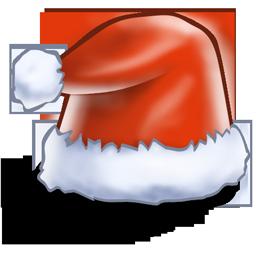 иконки santa hat, новый год, санта, колпак санты,