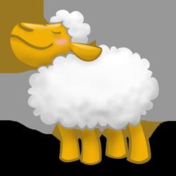 иконки clonecd, овечка, овца, животное,