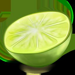иконка LimeWire, лайм, фрукт,