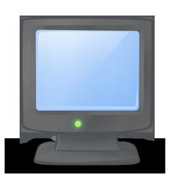 иконки My Computer, on, мой компьютер, включен,