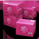 иконки Dribbble, Shipping, коробка, коробки, ящик, ящики,