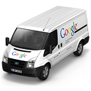 иконки Google, гугл, машина, автомобиль, микроавтобус,