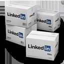 иконки Linkedin, Shipping, коробка, коробки, ящик, ящики,