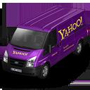 иконка Yahoo, машина, автомобиль, микроавтобус,