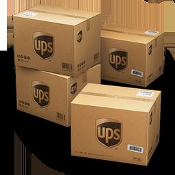 иконка UPS, Shipping, коробка, коробки, ящики, ящик,