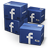 иконки Facebook, Shipping, коробки, ящики, коробка, ящик,