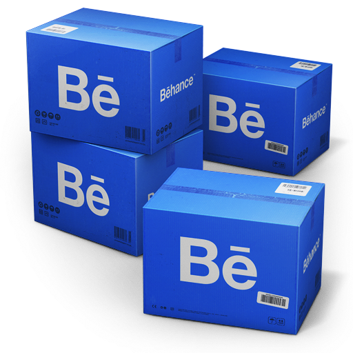 иконка Behance, Shipping, коробки, ящики, коробка,