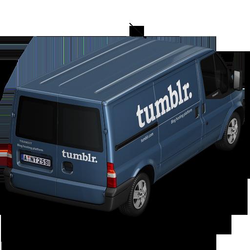 иконки Tumblr, машина, автомобиль, микроавтобус,