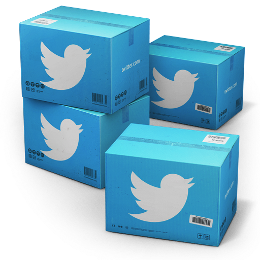 иконка Twitter, Shipping, коробка, ящик, ящики, коробки,