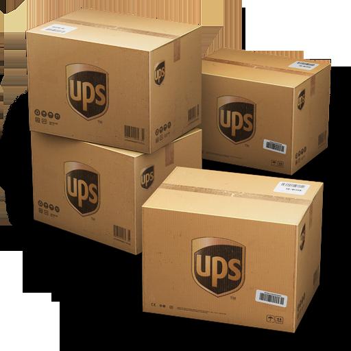 иконки UPS, Shipping, коробка, коробки, ящики, ящик,