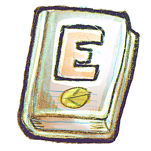 иконки Ebook, книга,