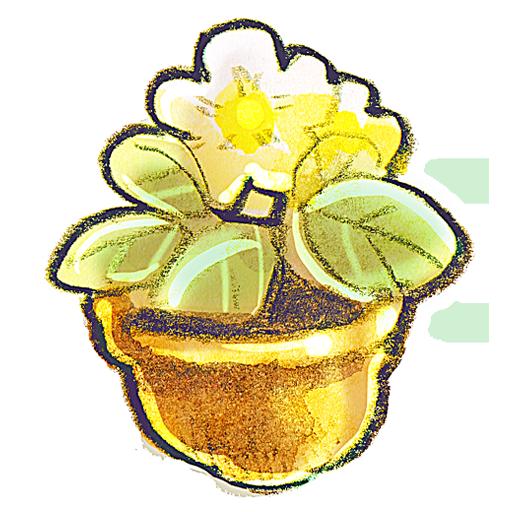 иконки Flowerpot, Flower, цветок, цветочный горшок,