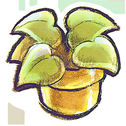 иконки Flowerpot, Plant, цветок, цветочный горшок,