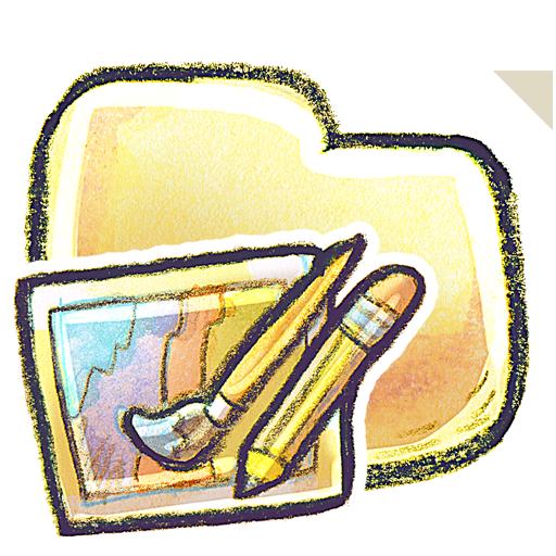 иконки Folder, Art, папка,