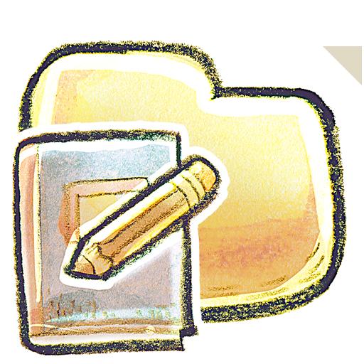 иконки Folder, Notebook, заметки, папка,