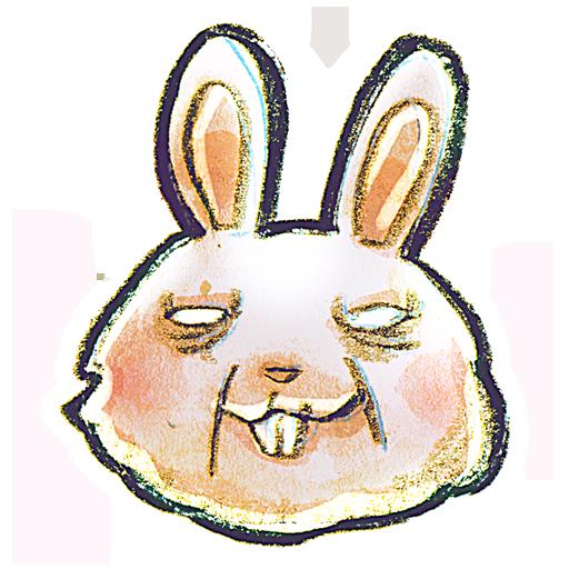 иконки Rabbit, кролик,