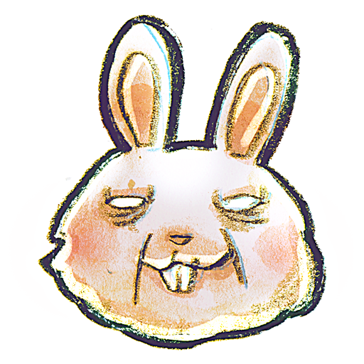 иконка Rabbit, кролик,
