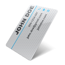 iconcontact info, business card, contact information,