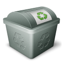 icongreen, trash, recycling,