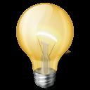 иконки bulb, light, лампочка,