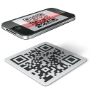 iconqr code, iphone, code scanner,
