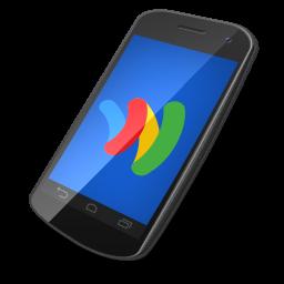 иконки google wallet, телефон, смартфон,