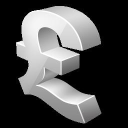 иконки pound, фунт,