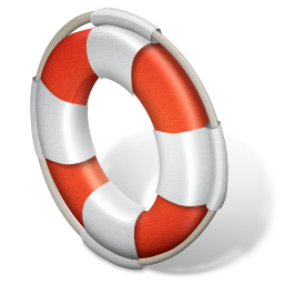 иконка support, помощь, спасательный круг,