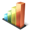 иконки bar chart, чарт, график, статистика, голосование,