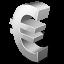 иконка euro, евро,