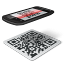 иконки qr code, сканер кода,