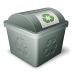 иконка green, мусорка, утилизация,