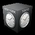 иконки timezone, часовой пояс, время,
