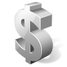 иконки dollar, доллар,