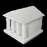 иконка law, здание, строение,