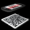 иконка qr code, сканер кода,