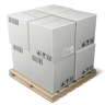 иконка shipping, коробка, ящики, склад,