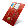 иконка visa, виза, кредитка, кредитная карта,
