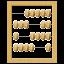 иконки abacus, счеты,