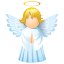иконка Angel, ангел,