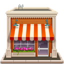 иконки shop, магазин, здание,