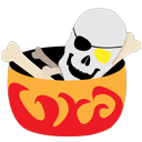 иконка bones, кости, хеллоуин, halloween, хэллоуин,