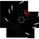 иконки spider, паук, паутина,