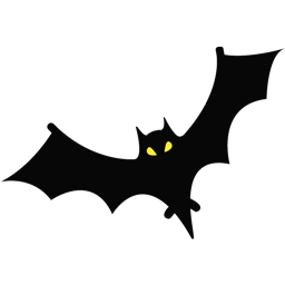 иконка bat, летучая мышь, hallowen, хеллоуин, хэллоуин,