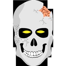 иконка skull, череп, halloween, хэллоуин, хеллоуин,