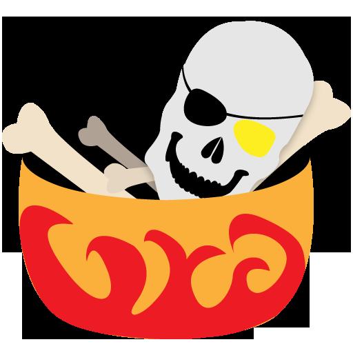 иконки bones, кости, хеллоуин, halloween, хэллоуин,