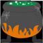иконки bubbling cauldron, кипящий котел, хэллоуин, хеллоуин, halloween,
