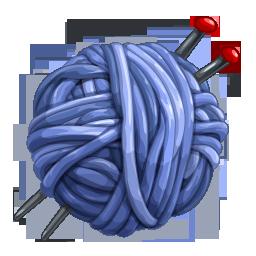 иконки network, клубок, нитки, вязание,